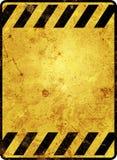 Signal d'avertissement Photographie stock libre de droits
