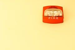 Signal d'incendie Photo libre de droits