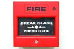 Signal d'incendie photographie stock libre de droits