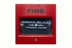 Signal d'incendie Photos libres de droits