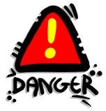 Signal danger Royalty Free Stock Photos