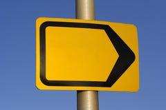 Signal de direction Image stock