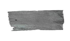 Signal de direction en bois avec les espaces vides Photo stock