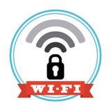 Signal de Wifi illustration de vecteur