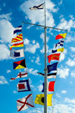 Signal flags Royalty Free Stock Photos