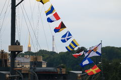 Free Signal Flags Royalty Free Stock Image - 75599496