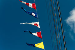 The signal flags Royalty Free Stock Photo