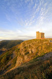 Signal Hill. Sunrise At Signal Hill St John's Newfoundland Canada Royalty Free Stock Photo