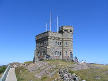 Signal Hill. The Signal hill Castle in Newfoundland on a sunny day Royalty Free Stock Images