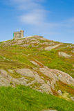Signal Hill and Cabot Tower, St-John's. Signal Hill and Cabot Tower, St. John's, Newfoundland stock images