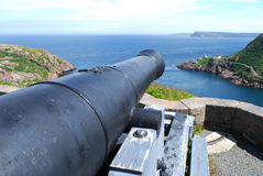 Signal Hill cannon in St. John's Royalty Free Stock Images