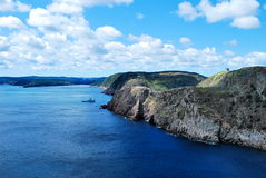 Signal Hill coastline Royalty Free Stock Photos