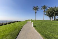 Signal Hill Park in Long Beach California Stock Photo