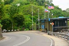 Signal Hill Road in Kota Kinabalu, Malaysia royalty free stock image