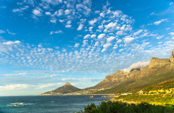 Signal Hill. The view from the Twelve Apostles towards Signal Hill and Table mountain is just fantastic Stock Photo