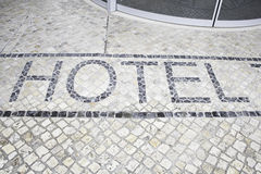 Signal hotel floor Stock Photo