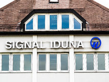 Signal Iduna. Office with lots of copy space Royalty Free Stock Images