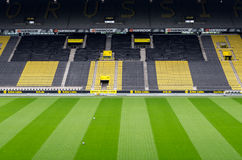 Signal Iduna Park. DORTMUND, GERMANY - JULY 13: Sigmal Iduna park . Home of Borussia Dortmund July  13, 2014, in Dortmund, Germany Stock Photography
