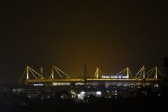 Signal Iduna Park at Night Stock Photo