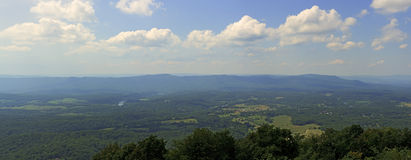 Signal Knob Overlook-Skyline Drive Stock Image