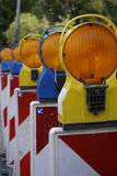 Signal lamps Stock Photography