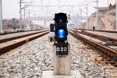 Signal light Royalty Free Stock Image