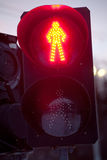 Red signal light Royalty Free Stock Photography