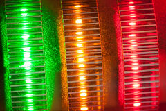 Signal lights Royalty Free Stock Images