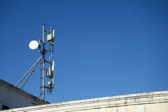 Signal pole1 Stock Photography