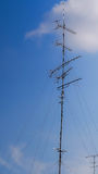 Signal receiving antenna Royalty Free Stock Photography