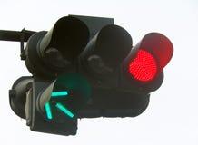 Signal am Schnitt Stockfoto