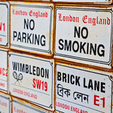 Signal street in london england europe old        transport  ico Stock Photo