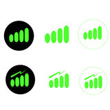 Signal strength Royalty Free Stock Image