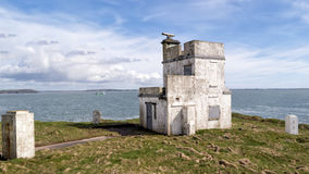 Signal Tower In Dunmore East Stock Photos