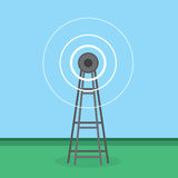 Signal Tower Royalty Free Stock Photography