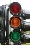 signal trafik Arkivbild