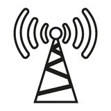 Signal transmitter Royalty Free Stock Images