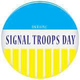 Signal Troops Day - Ukraine Royalty Free Stock Photos