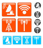 Signal Vector Icons Stock Photos