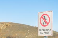 Signaldurchfahrt verboten Stockfotografie