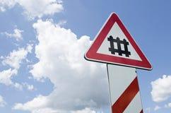 Signalering för himmel arkivbilder