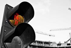 Signaling. Traffic signals, traffic management, urban traffic, increased traffic, public transport stock photography