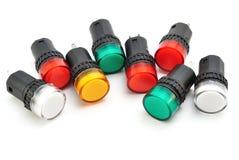 Signalisation colorée Photo libre de droits
