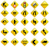 Signalisation de route Images stock