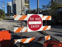 Signalisation, Tampa photo stock