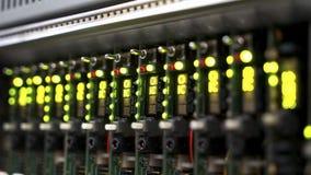 Signalisierenausrüstung für elektronischen Ton von Maschinen, von Computern und von Sendung Stockbilder