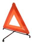 Signalization driehoek stock afbeelding