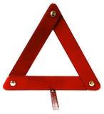 Signalization driehoek voor auto's stock fotografie