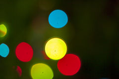Signalljuseffekt Arkivbild