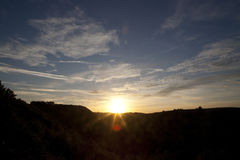 Signalljuset av solen Royaltyfri Bild